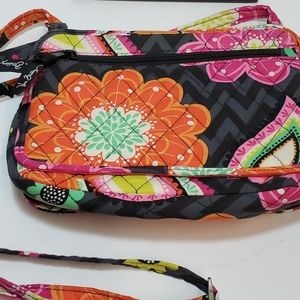 VERA BRADLEY Floral Small Cross Body Bag/ Purse
